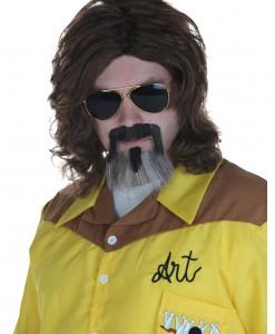 Big Lebowski The Dude Wig and Beard