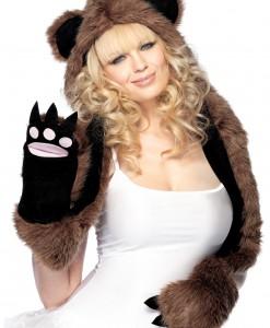 Bear Hood with paws