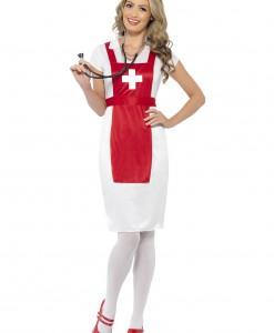 Womens A & E Nurse Costume
