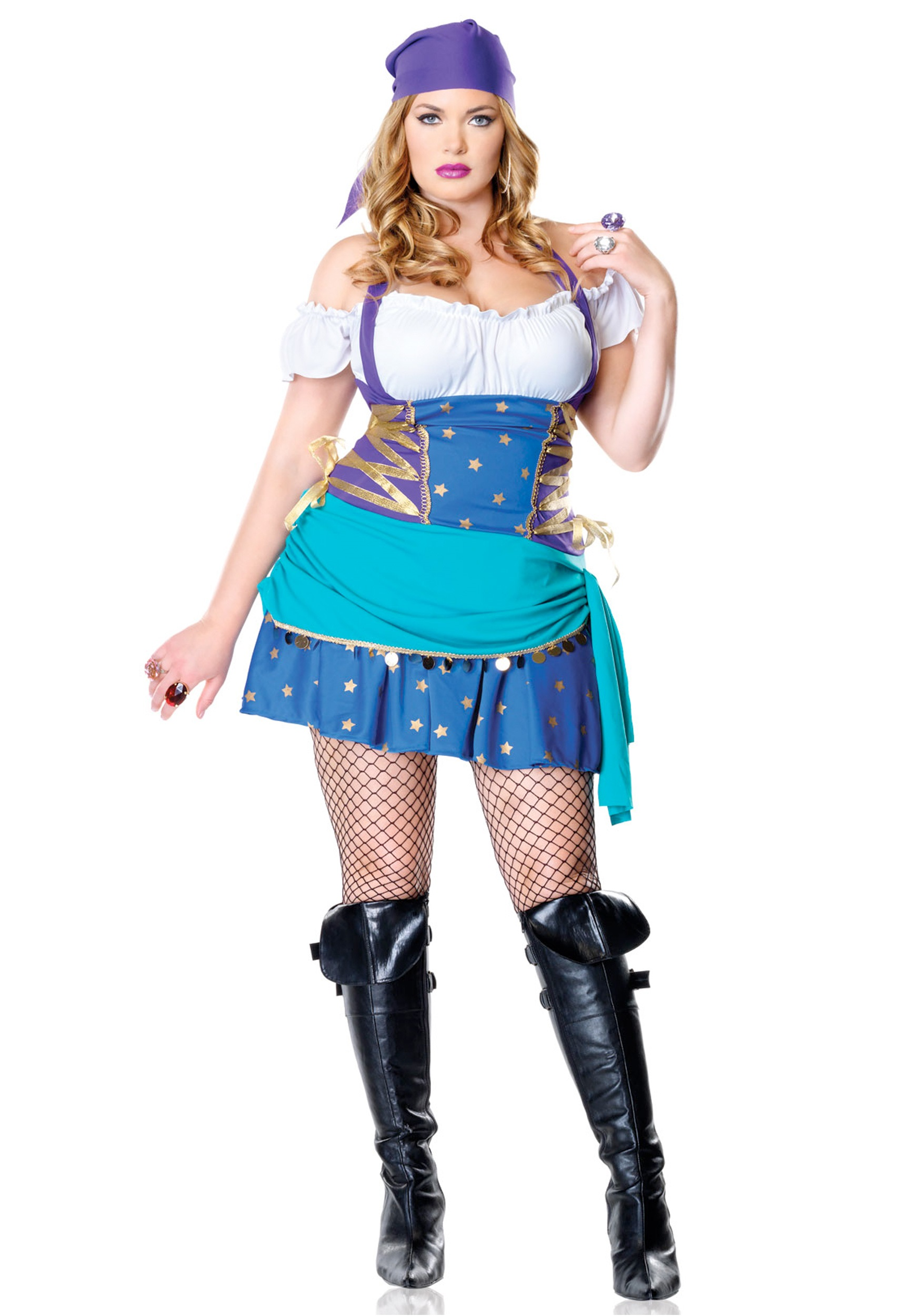 Gypsy Diva Halloween Costume, Sexy Gypsy Outfit