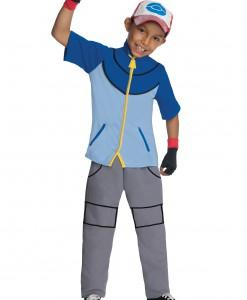 Boys Deluxe Pokemon Ash Costume
