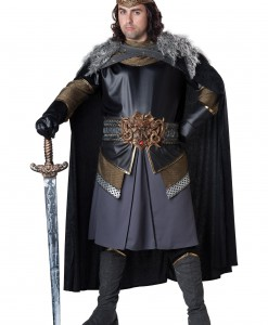 Plus Size Medieval King Costume