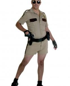 Deluxe Short Short Sheriff Costume