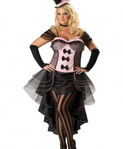 Plus Burlesque Babe Costume