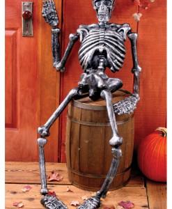 5 FT Metallic Skeleton