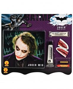 Deluxe Joker Wig & Makeup Kit