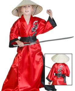 Kids Dragon Samurai Costume