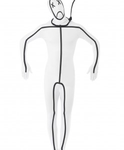 Adult Hangman Second Skin Suit