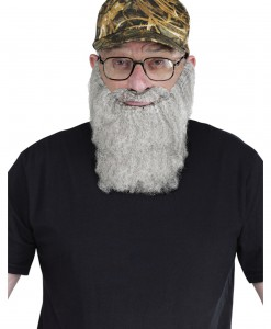 Duck Hunting Hat Grey Beard Kit