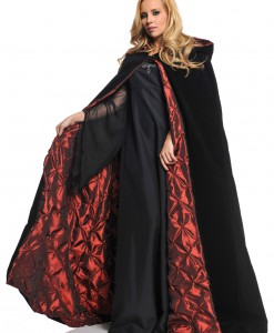 Deluxe Velvet Cape w/ Quilted Red Lining