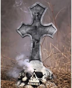Skull Pile Fogging Tombstone
