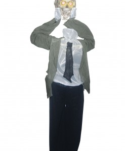 Animated Head Detached Skeleton
