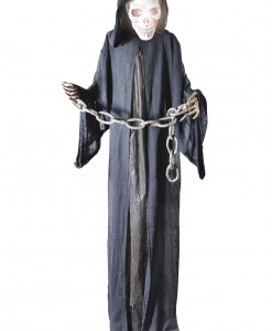 Standing Black Reaper in Chains