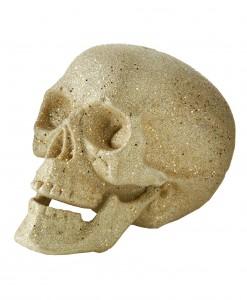 7 Large Silver Glitter Skull