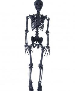 35.5 Black Glitter Skeleton