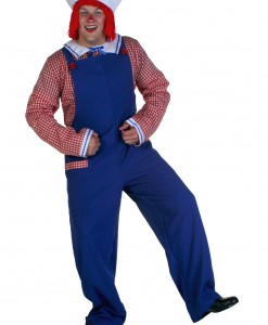 Plus Raggedy Andy Costume