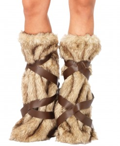 Warrior Fur Leg Warmers