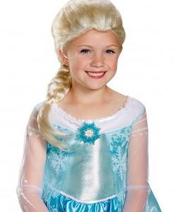 Girls Frozen Elsa Wig