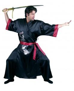 Black Samurai Adult Costume