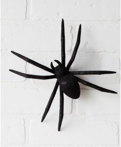 9 Inch Glitter Spider w/ Clip