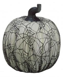 16 inch Spider Web Pumpkin