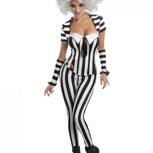 Women S Beetlejuice Corset Costume Halloween Costume Ideas 2019