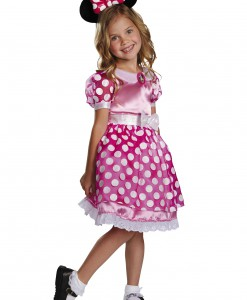 Toddler Pink Minnie Mouse Motion Activated Light Up Costume