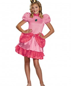 Princess Peach Tween Costume