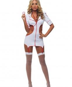 Women's Cut Out Nurse Costume