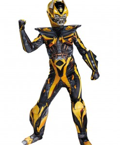 Transformers 4 Boys Bumblebee Prestige Costume