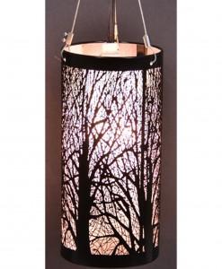 7'' Birch Hanging Light