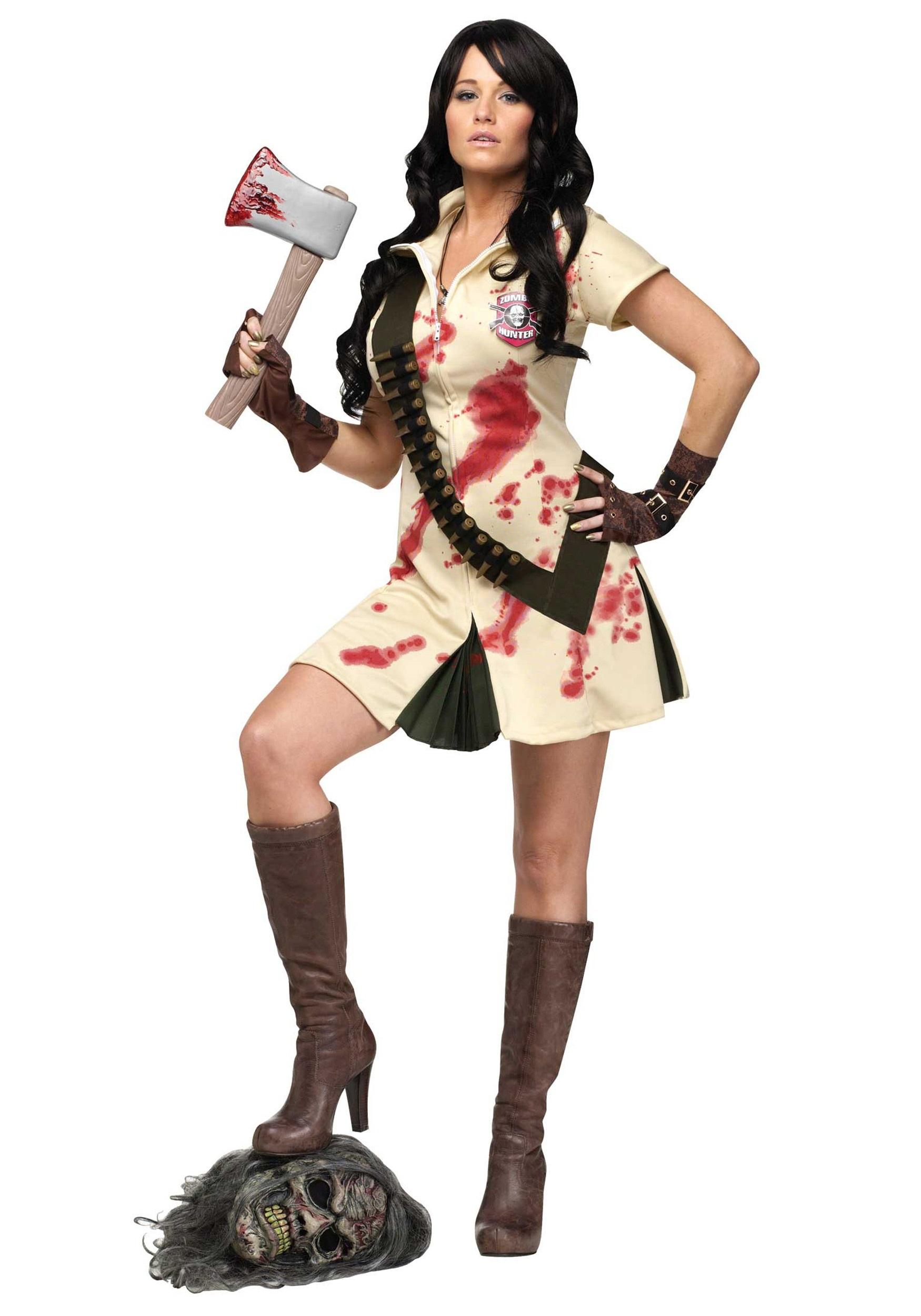 Womens Zombie Hunter Costume
