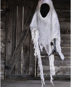 Hanging Faceless Reaper w/ Lantern