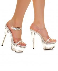 Clear Platform Heels