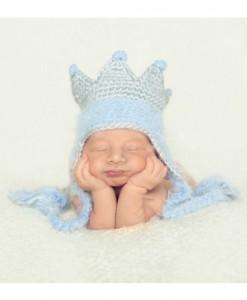Infant Blue King Hat