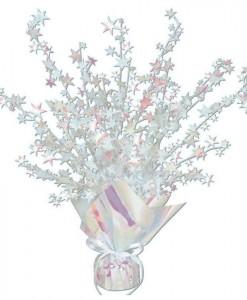 Opalescent Foil Star Gleam 'N Burst Centerpiece