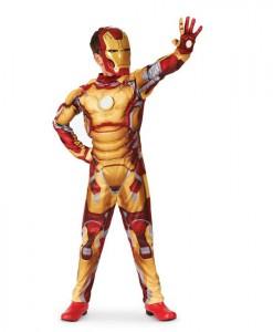 Iron Man 3 Mark 42 Muscle Light Up Child Costume