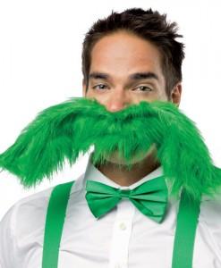 Super 'Stache Green 20 Mustache