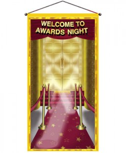 5' Awards Night Door Panel