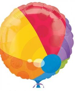 Beach Ball Foil Balloon