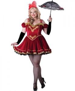Circus Cutie Adult Plus Costume