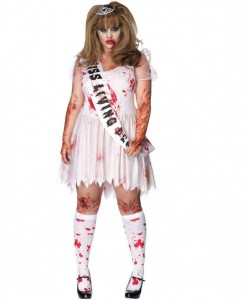 Putrid Prom Queen Adult Plus Costume