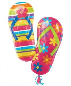 Flip Flops Jumbo Foil Balloon