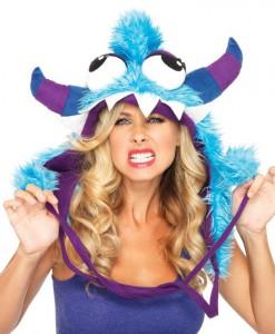 Blue Bert Monster Adult Hood