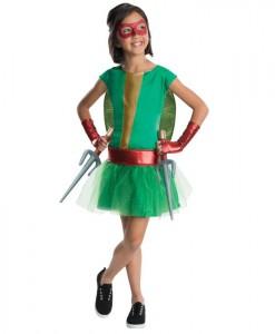 TMNT - Deluxe Raphael Girl Tutu Kids Costume