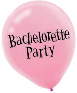 Bachelorette Latex Balloons Asst. (6 count)