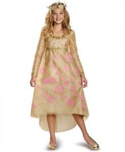 Maleficent - Aurora Coronation Deluxe Girls Dress Costume