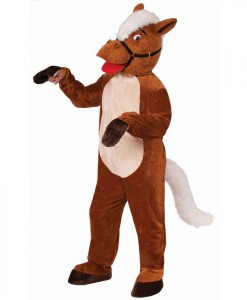 Henry The Horse Mascot Costume