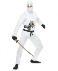 White Ninja Adult Avengers Series II Costume