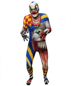 Monster Collection - Adult Creepy Clown Morphsuit